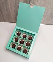 Коробка для конфет 9 шт Тиффани