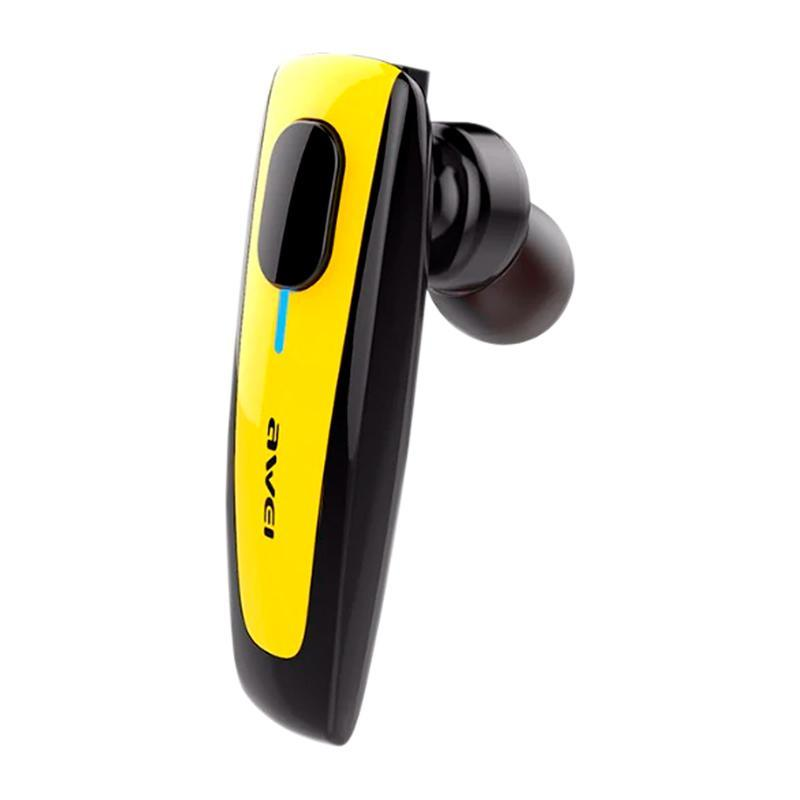 Bluetooth гарнитура наушник Awei N3 Yellow