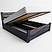 Ліжко дерев'яна односпальне Женева з підйомним механізмом (масив ясеня), фото 2