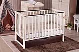 Детская кроватка Twins Pinocchio прямоугольная Пром, фото 3