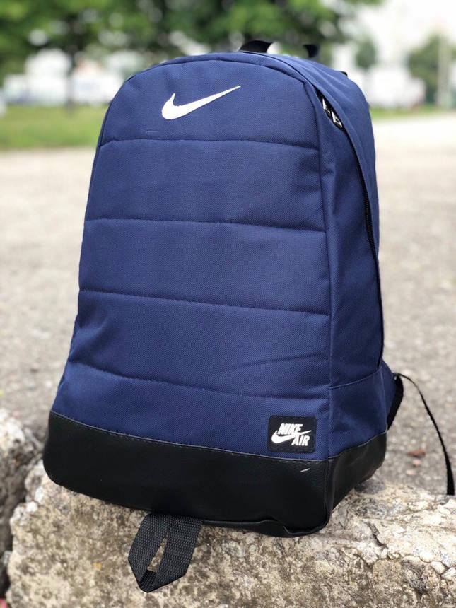 Рюкзак Nike + Кепка  Найк / AIR синий комплект Мужской / Женский, фото 2