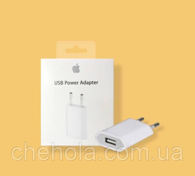 Сетевое зарядное устройство Apple iPhone 5W USB Power Adapter (MD813ZM/A)