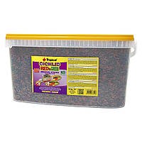 Сухой корм для аквариумных рыб Tropical в палочках «Cichlid Red & Green Medium Sticks» 10 л (для всех цихлид)
