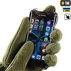 M-Tac перчатки Winter Tactical Windblock 380 Olive, фото 5