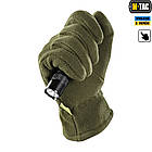 M-Tac перчатки Winter Tactical Windblock 380 Olive, фото 6