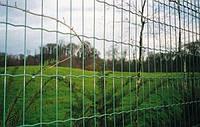 Рулонная сетка, зеленая, 50х100 мм, 1.5х25 м.