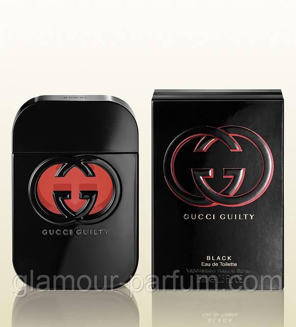 Женская туалетная вода Gucci Guilty Black Pour Femme (Гучи Гилти Блэк) ee0149af291b3