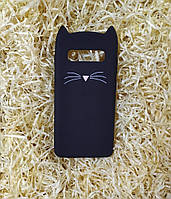 Силиконовый чехол Cat для Samsung S10