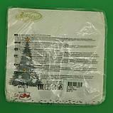 Дизайнерська серветка (ЗЗхЗЗ, 20шт) La FleurНГ Сніговик-бешкетник (116) (1 пач.), фото 2