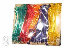 """Мішалка пластик """"Штурвал"""" 19.0 см(100шт) Юніта (1 пач.)"""