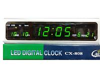 "Электронные часы-будильник ""Led digital clock"" cx-808"