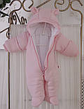 """Зимний набор для новорожденной девочки на выписку, """"Мечта+ВВ"""" розовый, фото 7"""