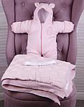 """Зимний набор для новорожденной девочки на выписку, """"Мечта+ВВ"""" розовый, фото 2"""