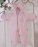"""Зимний набор для новорожденной девочки на выписку, """"Мечта+ВВ"""" розовый, фото 8"""