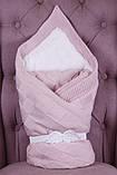 """Зимний набор для новорожденной девочки на выписку, """"Мечта+ВВ"""" розовый, фото 3"""