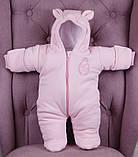 """Зимний набор для новорожденной девочки на выписку, """"Мечта+ВВ"""" розовый, фото 5"""
