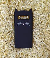 Силиконовый чехол Cat для Samsung S10 Plus