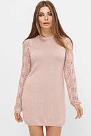 Модное женское платье вязаное в 6ти цветах 218
