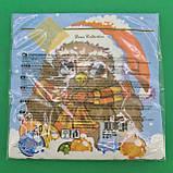 Новорічна серветка (ЗЗхЗЗ, 20шт) LuxyНГ Замичтавшаяся сова (1 пач.), фото 3