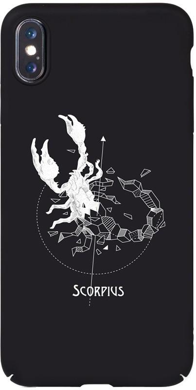 Чехол-накладка TOTO Full PC Print Case Apple iPhone X/XS #161_Scorpius Black #I/S