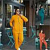 Р 52-66 Трикотажный прогулочный костюм с кофтой на змейке Батал 22490