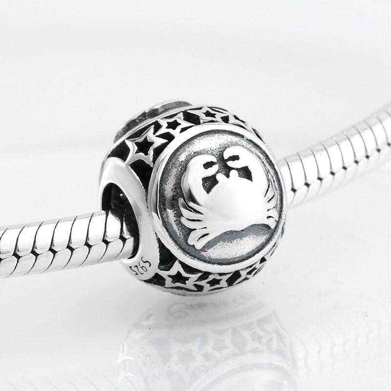Шарм Знак зодиака Рак серебро (925) PLA0060-5