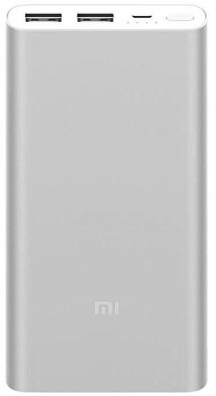 Портативная батарея Xiaomi Mi Power Bank 2S 10000mAh Silver (VXN4228CN, VXN4231GL) #I/S