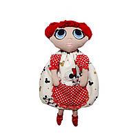 Пижамница кукла ЛОЛ с маской для сна.