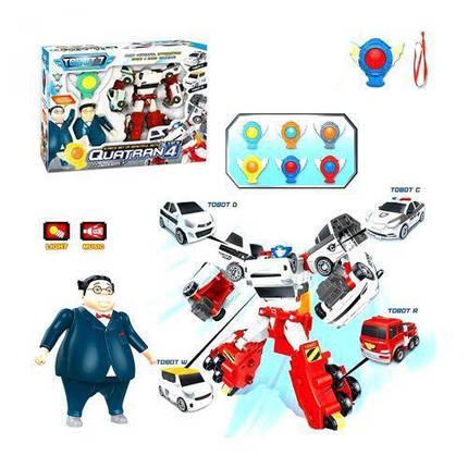 """Набор игрушек """"Робот-трансформер Quatran с героями """" Q1907, фото 2"""