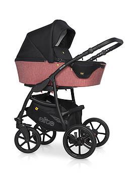 Серая качественная коляска Универсальная коляска для новорожденного ребенка Коляска 2в 1