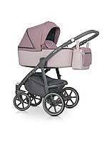 Фиолетовая коляска для девочки Универсальная коляска 2 в 1