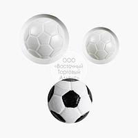 """Набір пластикових молдова """"Футбольний м'яч"""" - Ø2,5 см, Ø4,5 см"""