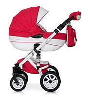 Краская коляска для девочки Универсальная коляска трансфомер для новорожденной девочки