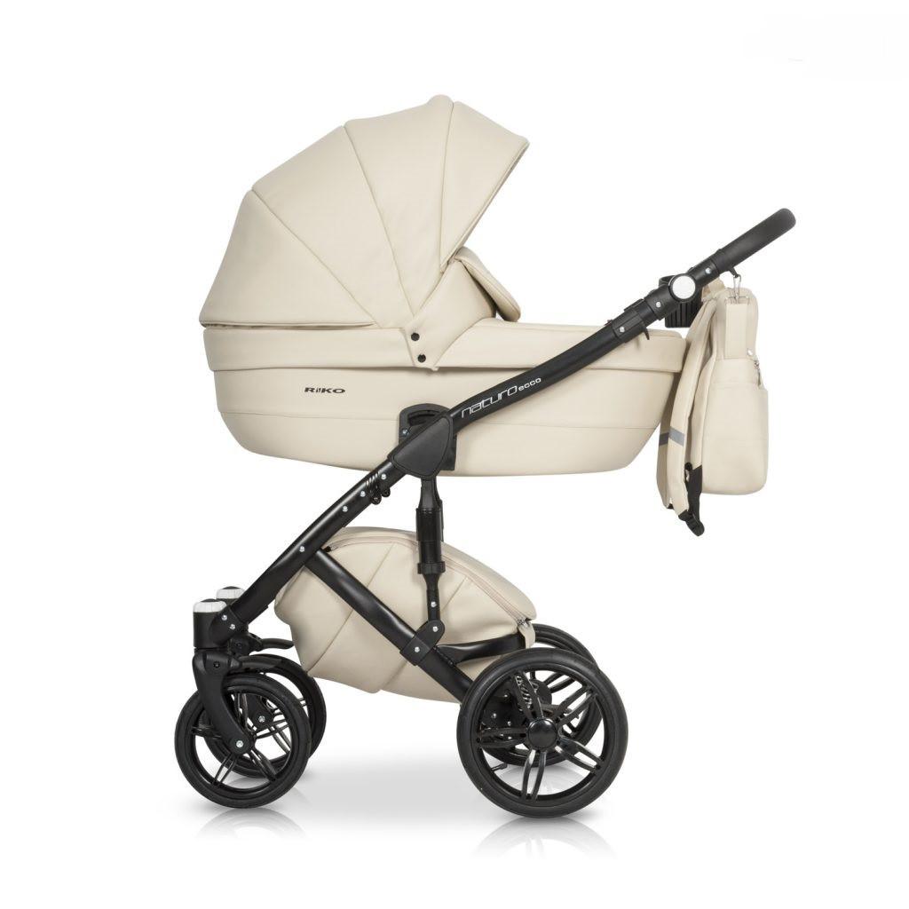 Белая Качественная коляска для ребенка от 0 до 36мес Коляска универсальная детская