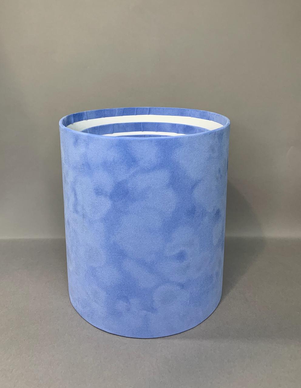 Средняя высокая б/к БАРХАТ (голубой)