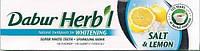 Натуральная зубная паста  Dabur Herbal Salt&Lemon