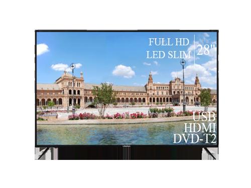 "Телевізор Liberton 28"" FullHD+DVB-T2+USB"