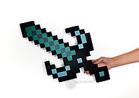 Меч Чорний смарагдовий Minecraft