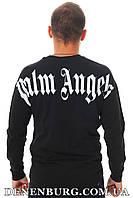 Лонгслив мужской PALM ANGELS 20-5001 чёрный, фото 1
