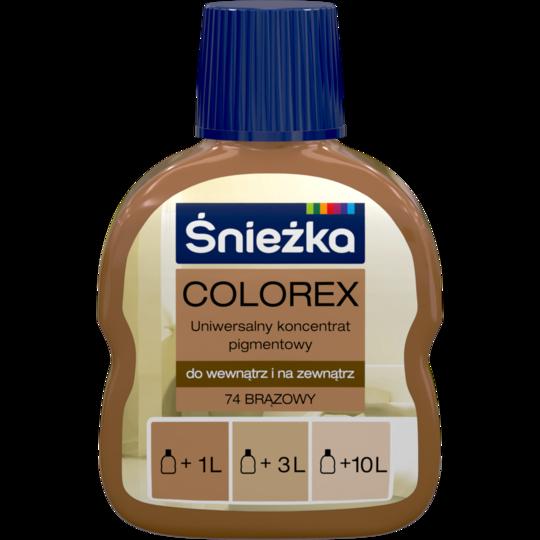 Колорекс Sniezka №74 коричневый