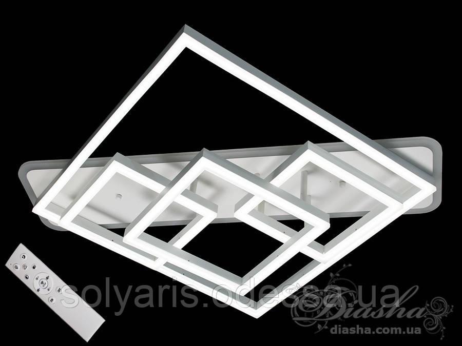 Потолочная светодиодная люстра с диммером 150W MX11031/4WH LED 3color dimmer