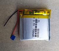 Аккумулятор литий полимерный плоский Li-Po 803030 3,7 v 700 мah