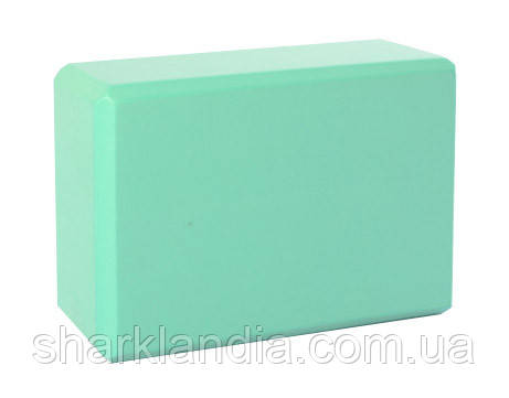 Блок для йоги MS 0858-3 (Turquoise)