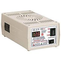 Зарядное устройство Аида 10si для АКБ 10А 4-180 Ач с индикатором напряжения, фото 1