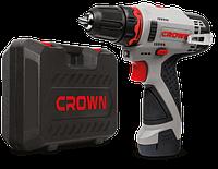 Акумуляторна дриль-шуруповерт CROWN CT21072HX-2 BMC