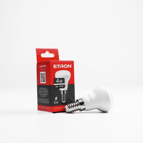 Лампа светодиодная ETRON Light Power R39 4W 4200K 220V E14
