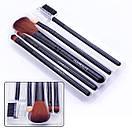 Набор кистей для макияжа HUDA BEAUTY 5 в 1, фото 2