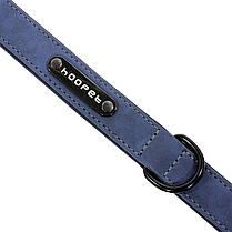 Ошейник для собак Hoopet W033 Blue L двухслойный, фото 2