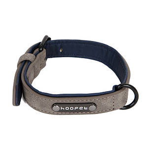 Ошейник для собак Hoopet W033 Grey M двухслойный, фото 2