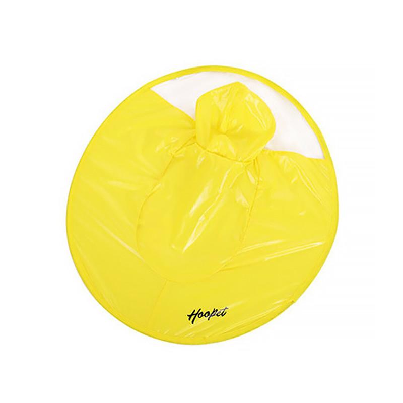 Дождевик для собак Hoopet HY-1555 Yellow S жилет плащ